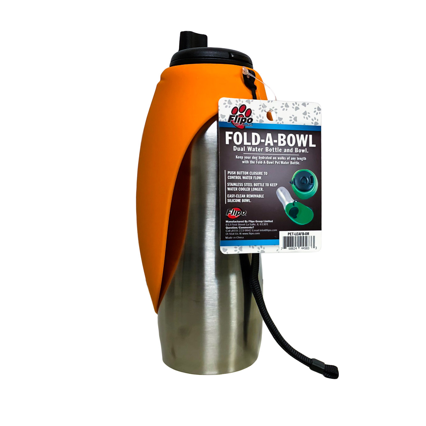 Portable Water Bottle And Bowl For Your Dog: Portable Pet Water Bottle And Bowl