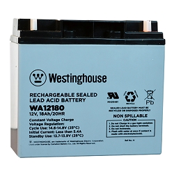 WA12180N SEALED LEAD ACID BATTERY (12V 18AH)