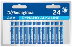 Westinghouse AAA Dynamo Alkaline Clamshell Pack of 24