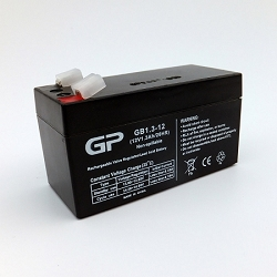 GP1213 Sealed Lead Acid Battery (12V 1.3 AMP)