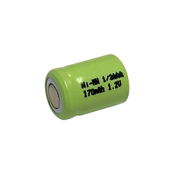 Power Pro 1/3AAA 170mAh Ni-Mh Flat Top Battery