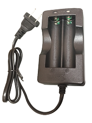 Two Cell Charger  for 18650 Lithium Ion