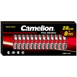 Camelion AAA Alkaline Plus 36 Pack