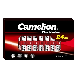 Camelion AA Alkaline Plus 24 Pack