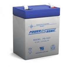 Power Sonic PS-1227-F1 12 Volt 2.9Ah F1 Terminal