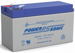 Power Sonic PS-1290-2 12Volt 9Ah F2 Terminal