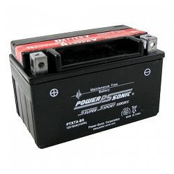 Power Sonic PTX7A-BS Power Sport Battery