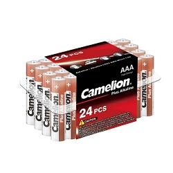 Camelion AAA Plus Alkaline Plastic Tub of 24