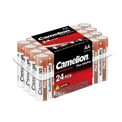 Camelion AA Plus Alkaline Plastic Tub of 24