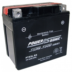 Power Sonic PTX5L-BS Power Sport Battery