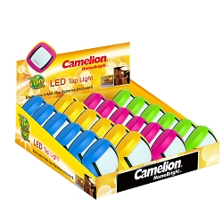 Camelion LED Tap Light Display Box of 24