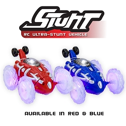 Flipo Stunt RC Car With LED Lights