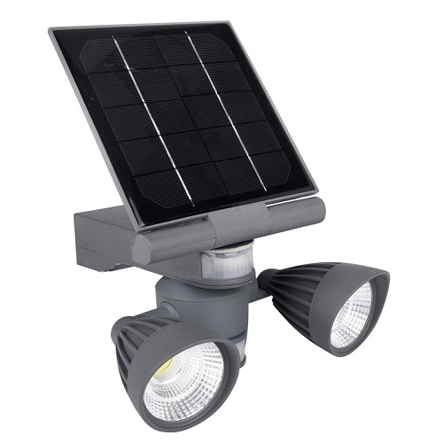 Pacific Accents Solar 2 x 3 COB Flood Light 600 Lumens