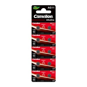 Camelion AG11 / 362 / LR721 1.5V Button Cell Battery 10pk