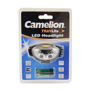 Camelion 4 White LED + 2 Red LED Head Lamp