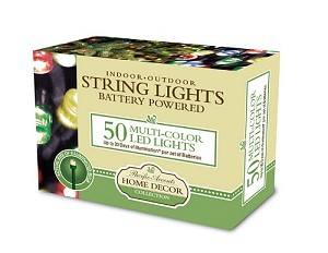 Battery Operated String Lights 50 LED