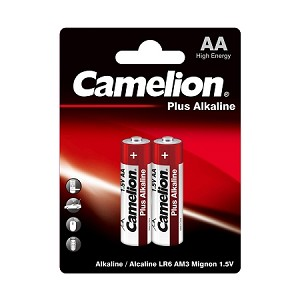 Camelion AA Plus Alkaline Blister Pack of 2