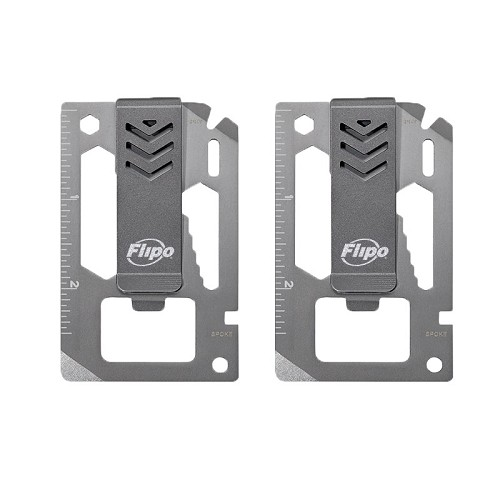 Money Clip Multi-Tool Set of Two