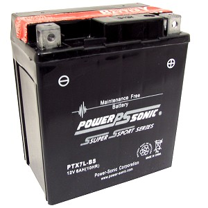 Power Sonic PTX7L-BS Power Sport Battery